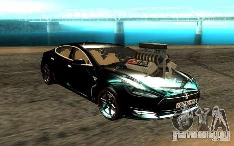 Tesla Model S для GTA San Andreas