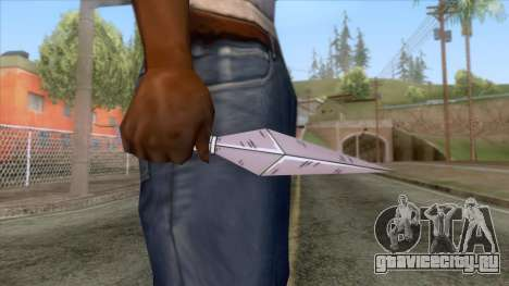 Ninja Kunai Weapon для GTA San Andreas