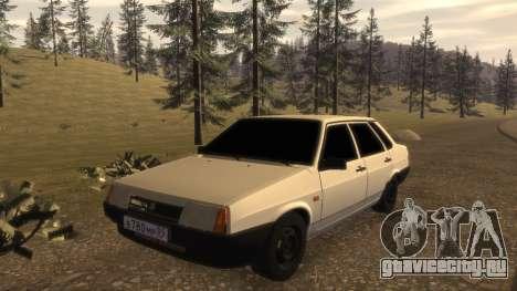 ВАЗ-21099 FIB для GTA 4