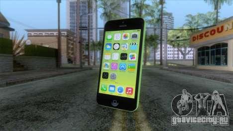 iPhone 5C Green для GTA San Andreas