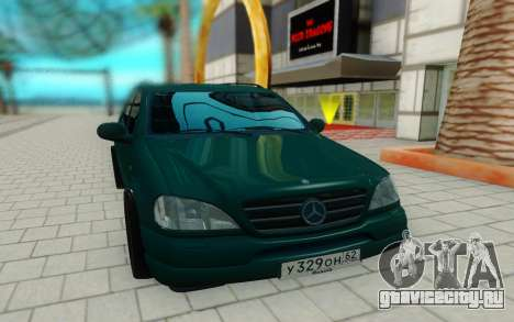 Mersedes-Benz ML 230 для GTA San Andreas