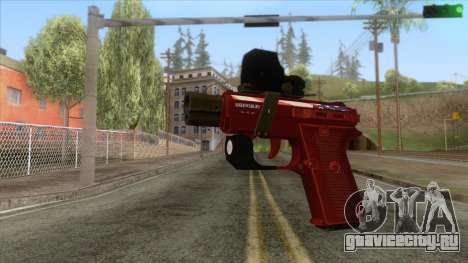 The Doomsday Heist - SNS Pistol v1 для GTA San Andreas
