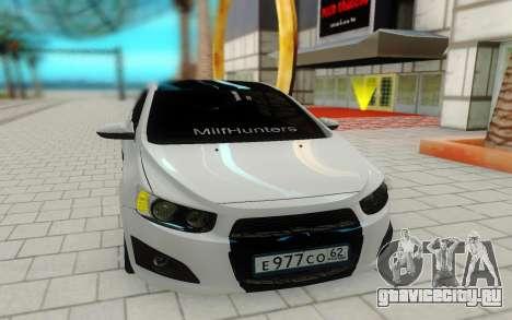 Chevrolet Aveo для GTA San Andreas