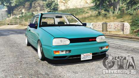 Volkswagen Golf GTI Mk3 v1.1 [replace] для GTA 5