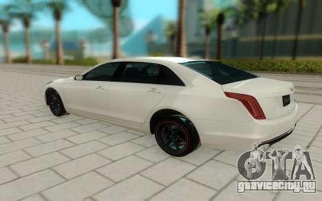 Cadillac CT6 для GTA San Andreas вид сзади слева