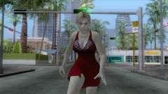 Jill Dress Skin для GTA San Andreas
