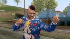 Christmas GTA Online Skin для GTA San Andreas