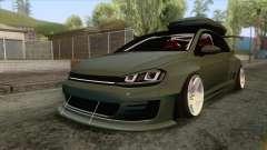 Volkswagen Golf R Pandem Rocket Bunny 2014 для GTA San Andreas