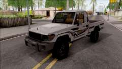 Toyota Land Cruiser J79 для GTA San Andreas