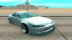 Nissan Silvia S15 белый для GTA San Andreas