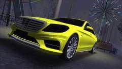 Mercedes-Benz S-class W222 для GTA San Andreas