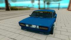 ВАЗ 2105 синий для GTA San Andreas