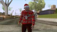 GTA Online - Christmas Skin 1 для GTA San Andreas