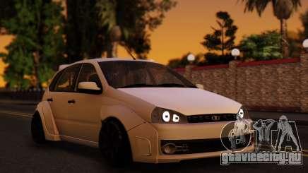 Lada Kalina Sport Tuning белый для GTA San Andreas