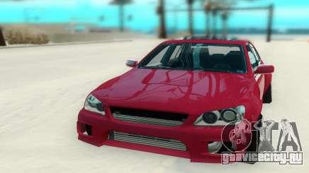 Toyota Altezza красный для GTA San Andreas