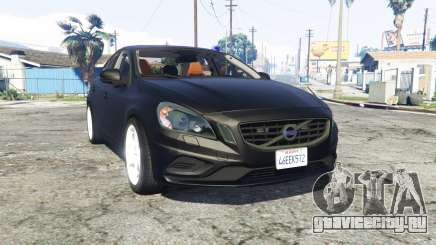 Volvo S60 unmarked police [replace] для GTA 5