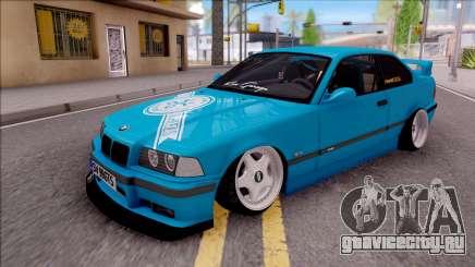 BMW 3-er E36 Blue 4.0i для GTA San Andreas