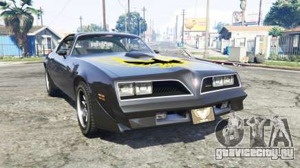 Pontiac Firebird Trans Am 1977 v3.0 [replace] для GTA 5