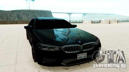 BMW M5 F90 чёрный для GTA San Andreas