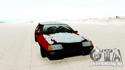 ВАЗ 2108 красный для GTA San Andreas
