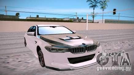 BMW M5 F90 белый для GTA San Andreas