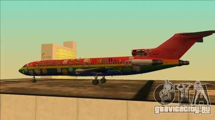 Боинг 727-200 Войн Waifu Издание для GTA San Andreas