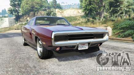 Dodge Charger RT SE (XS29) 1970 [replace] для GTA 5