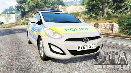 Hyundai i30 (GD) metropolitan police [replace] для GTA 5