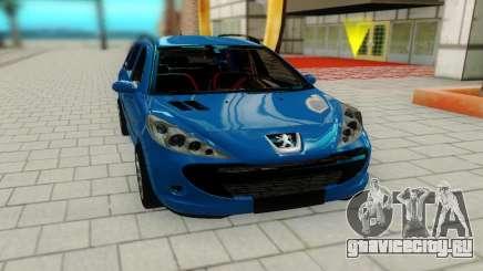 Peugeot 207 для GTA San Andreas