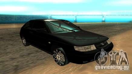 ВАЗ 2112 чёрный для GTA San Andreas