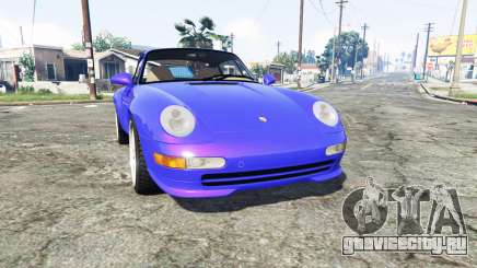 Porsche 911 Carrera RS (993) 1995 v1.2 [replace] для GTA 5