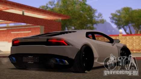Lamborghini Huracan Pamdem Kit для GTA San Andreas вид слева