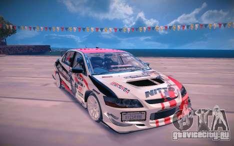Mitsubishi Lancer Evolution 9 для GTA San Andreas