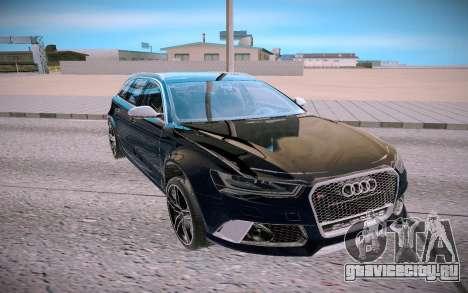 Audi RS6 Avant C7 для GTA San Andreas