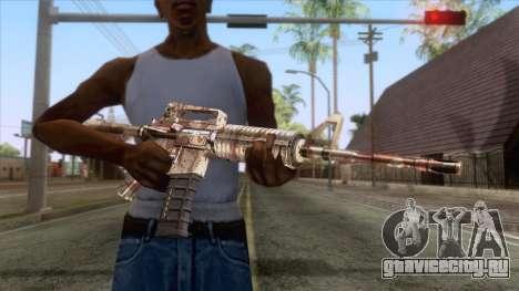 Crossfire M4A1 Camo для GTA San Andreas