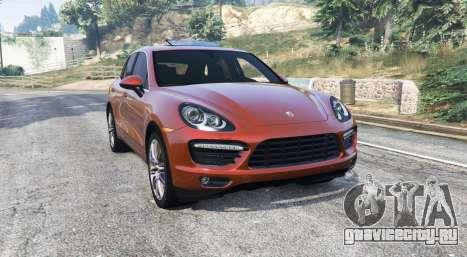 Porsche Cayenne Turbo (958) 2012 [replace] для GTA 5