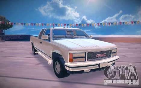 1992 GMC Sierra для GTA San Andreas