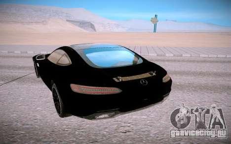 Mercedes-Benz GT для GTA San Andreas