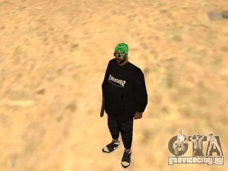 Fam1 Thrasher Worldwide для GTA San Andreas