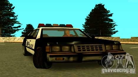 VCPD Cruiser from GTA Vice City для GTA San Andreas