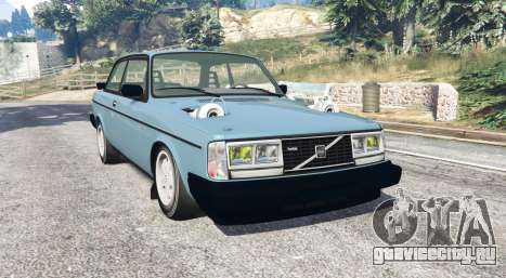 Volvo 242 Turbo v1.2 [replace] для GTA 5