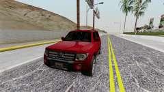 Mitsubishi Pajero SA Plate для GTA San Andreas