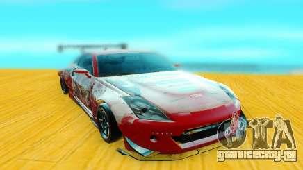 Nissan 350Z красный для GTA San Andreas