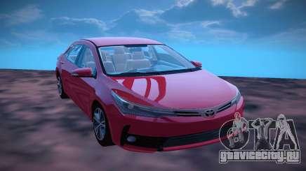 Toyota Corolla 2018 для GTA San Andreas