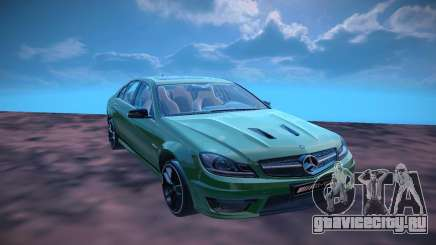 Mercedes Benz AMG C63 Edition 507 для GTA San Andreas