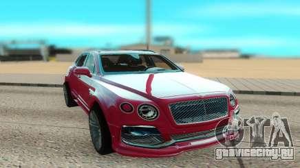 Bentley Bentayga Startech для GTA San Andreas