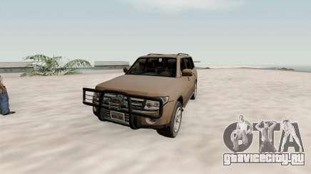 Mitsubishi Pajero v1.1 для GTA San Andreas