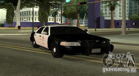 LAPD Ford Crown Victoria для GTA San Andreas