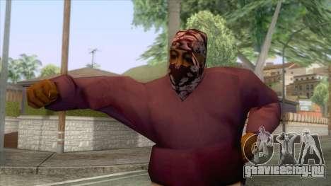 New Ballas Skin 2 для GTA San Andreas