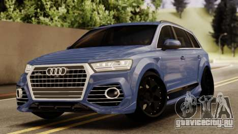 Audi SQ7 для GTA San Andreas